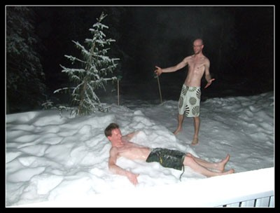 snow-rolling