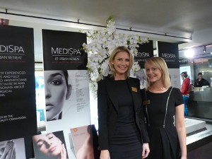 Deborah Vine, MediSpa and Body Clinic Manager, and her daughter, Ruby