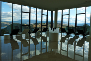 Relaxation room at Sparkling Hill, Canada