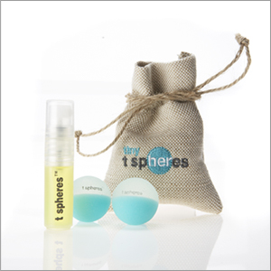 Pep-up-mint tspheres