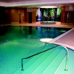 The pool at Horsted Spa