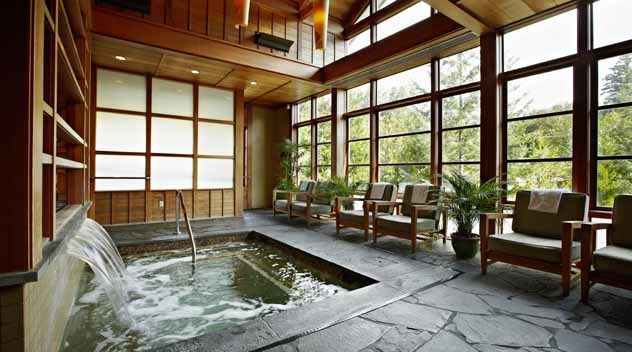 The serene Salish Spa