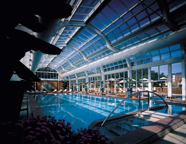 The conservatory swimming pool at Four-Seasons Hampshire