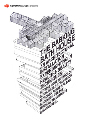 Barking Bathhouse: an experimental pop-up spa for the London 2012 Olympics