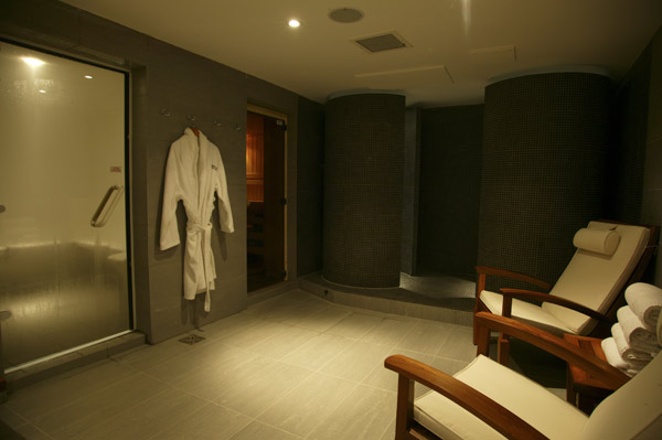 Thermal spa facilities at Lansdowne Place Hotel and Spa, Hove