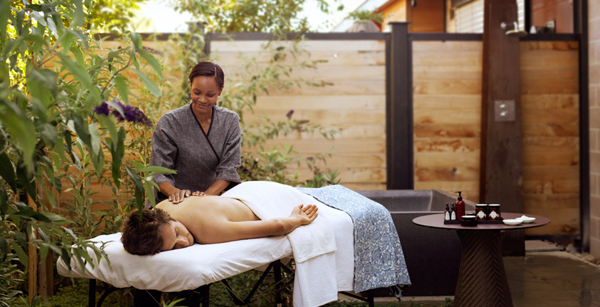 A treatment at Bardessono