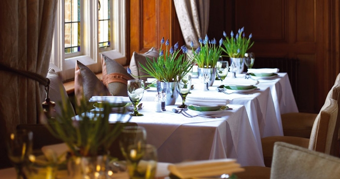 Dining at Grayshott Spa, Surrey