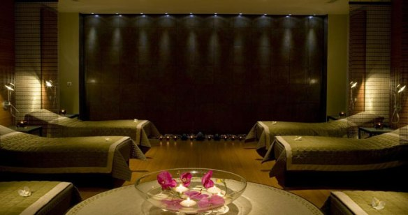 The relaxation lounge at Rookery Hall Hotel and Spa
